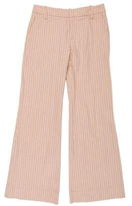 Marni Striped Wide-Leg Pants