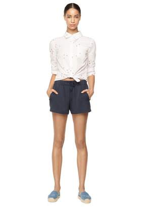 Milly Surfer Coupe Button Down Shirt