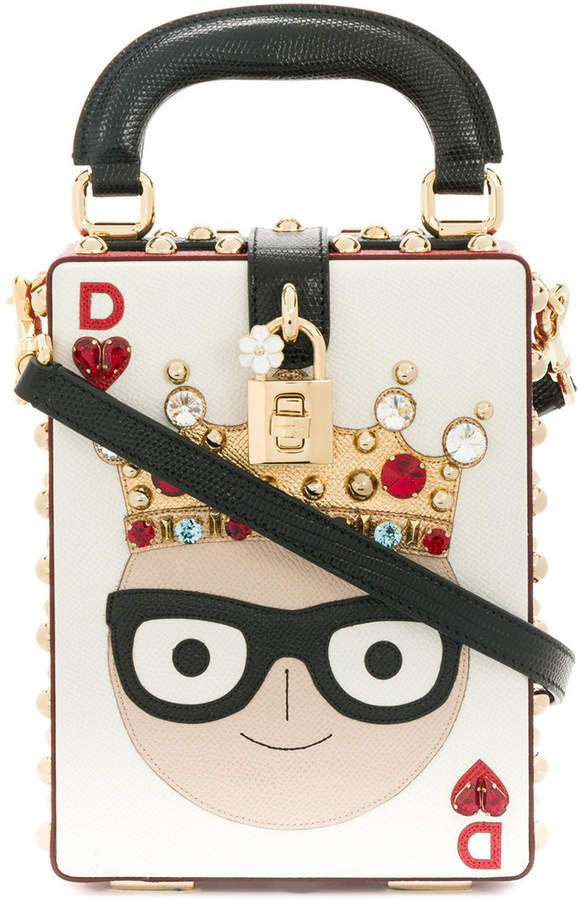 Dolce & Gabbana Dolce Box Designer patch handbag