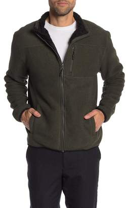 Weatherproof Stripe Polar Fleece Jacket