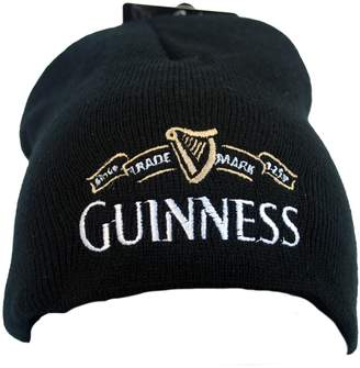 Guinness Beanie Hat With White Trademark Logo, Colour