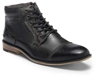 Steve Madden Karrin Cap Toe Leather Boot