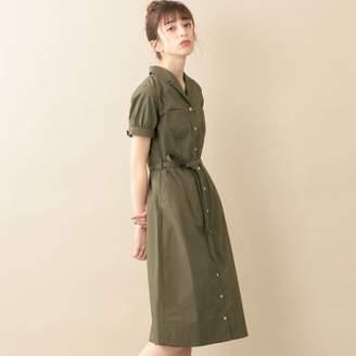 Le Jour (ル ジュール) - ル ジュール 【DIRECTED BY KISHIKO MAEDA】ワッシャータイプライターオープンカラーシャツワンピ