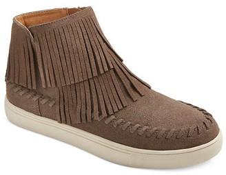 Women's Lyra Fringe High Top Sneakers - Mossimo Supply Co. $34.99 thestylecure.com
