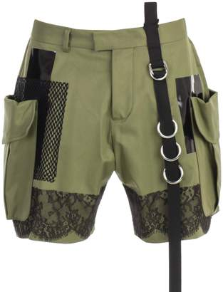 DSQUARED2 Floral Lace Shorts