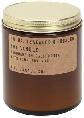 P.F.Candle Co. No. 04 Teakwood & Tobacco Soy Candle