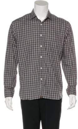 Billy Reid Woven Button Shirt