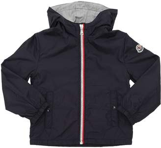 Moncler New Urville Hooded Nylon Jacket