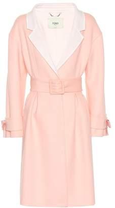 Fendi Belted wool coat