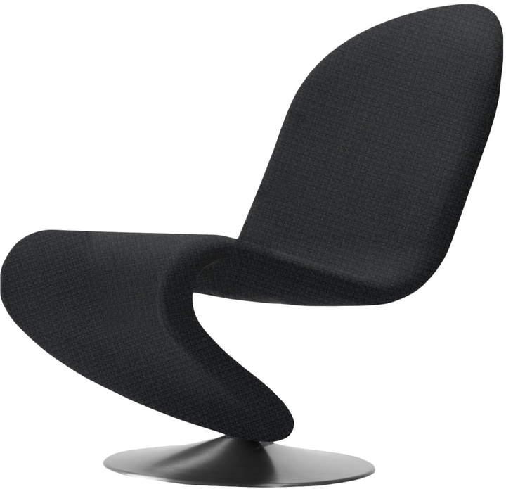 System 1-2-3 Lounge Chair Standard, Urban Plus Schwarz (Subway yn009)
