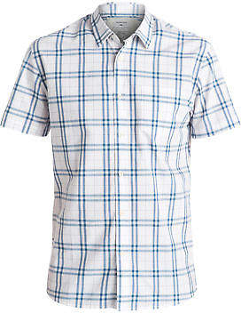 Quiksilver NEW QUIKSILVERTM Mens Everyday Check Short Sleeve Shirt Tops