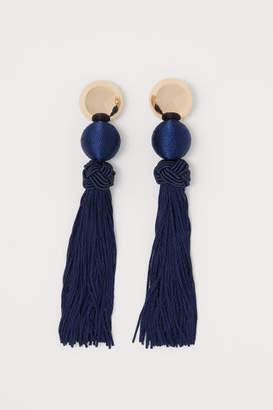 H&M Long Earrings - Blue