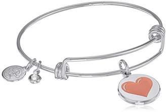 Halos & Glories Heart Bangle Bracelet