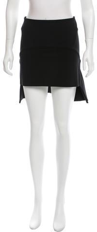 GivenchyGivenchy High-Low Mini Skirt