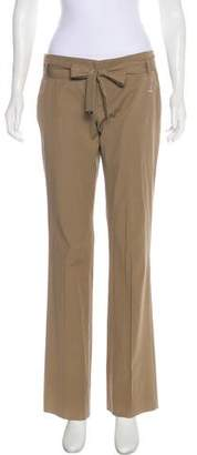Gucci Mid-Rise Bamboo-Adorned Pants w/ Tags