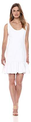 Milly Women's Stretch Crepe Geneva Mini Dress
