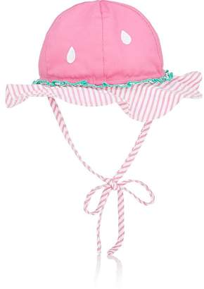 Florence Eiseman Infants' Watermelon-Motif Cotton Sun Hat