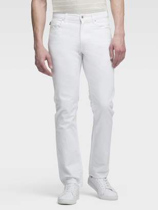Donna Karan Donnakaran THE STRAIGHT-LEG WHITE JEAN