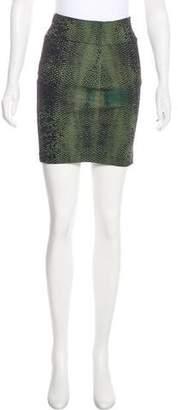 Robert Rodriguez Printed Pencil Skirt