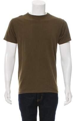 Nlst Woven Crew Neck T-Shirt