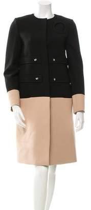 Derek Lam Colorblock Collarless Jacket w/ Tags