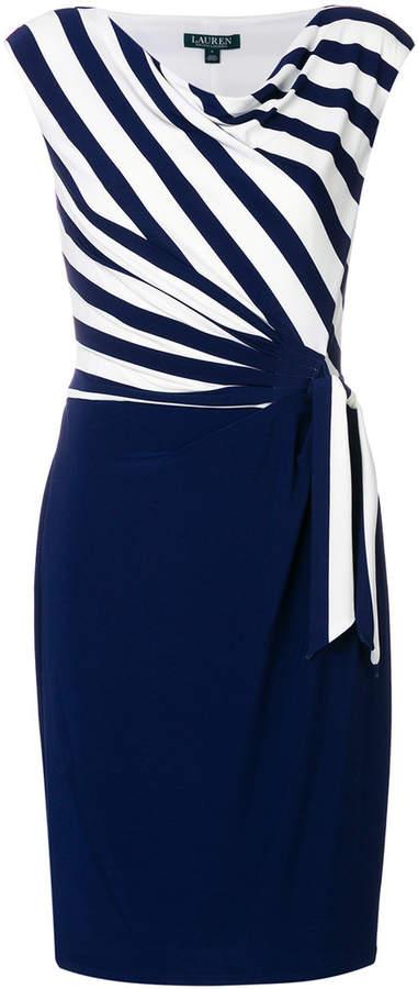 Ralph Lauren striped wrap dress
