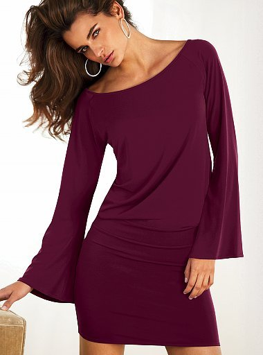 Victoria's Secret Flirty little bell-sleeve dress