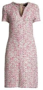 St. John Modern Pointale Knit Dress