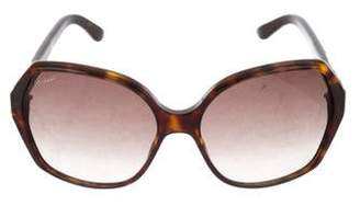 Gucci GG Web Oversize Sunglasses