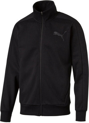 Puma Men's dryCELL Fleece Track Jacket $55 thestylecure.com