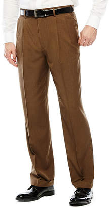 STAFFORD Stafford Travel Year-Round Pleated Pants