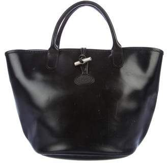 Longchamp Smooth Leather Tote
