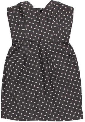 Alice by Temperley Polka Dot Mini Dress $75 thestylecure.com
