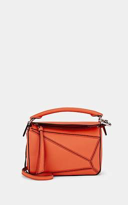 Loewe Women's Puzzle Mini Leather Shoulder Bag - Bright Peach