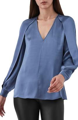 Reiss Cora Satin Blouse