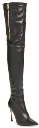 Gianvito Rossi Pointed Toe Over the Knee Boot