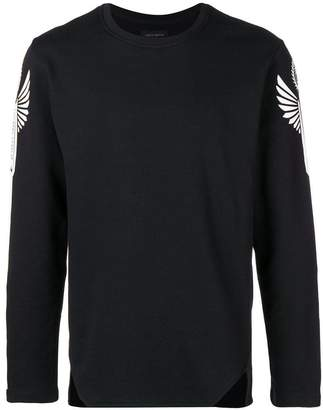 Frankie Morello side panel sweatshirt