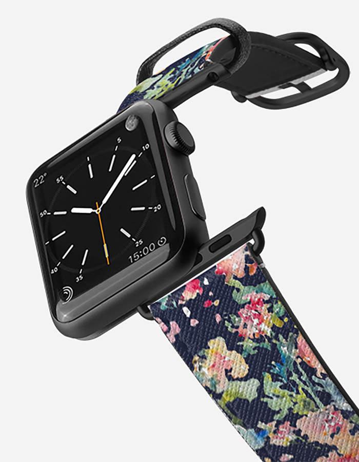 CASETIFY 38mm Keepsake Black Apple Watch Band
