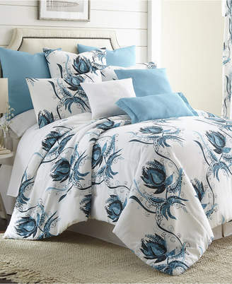 Colcha Linens Seascape Comforter Set Super King Bedding