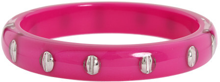 Marc by Marc Jacobs Screwed Resin Bangle