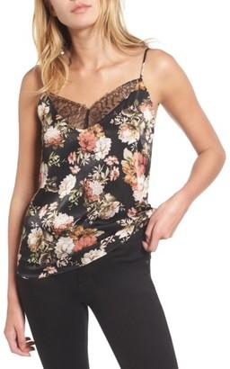 Women's Bp. Floral Lace Trim Camisole $35 thestylecure.com