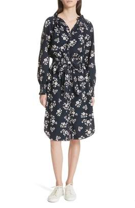Rebecca Taylor Camille Floral Shirtdress