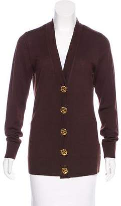 Tory Burch Merino Wool Knit Cardigan