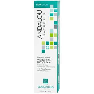 Andalou Naturals Quenching Skin Care Coconut Water Visibly Firm Day Cream 50 g