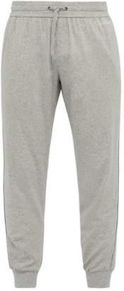 Calvin Klein Underwear Drawstring Cotton Blend Lounge Trousers - Mens - Grey