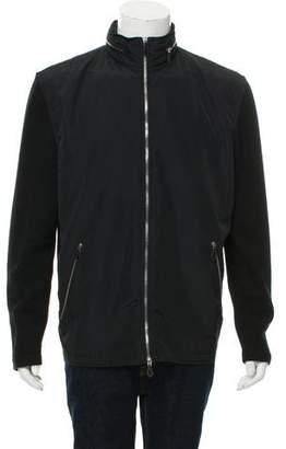 Hermes Merino Wool Zip-Up Jacket