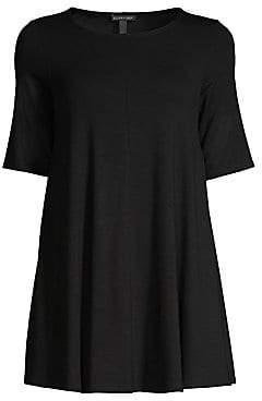 Eileen Fisher Women's Elbow-Sleeve Tunic