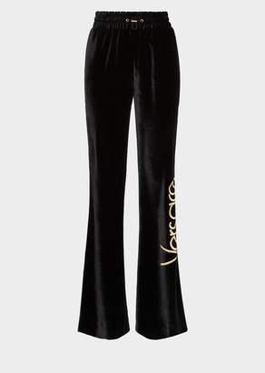 Versace Flared Vintage Logo Sweatpants
