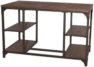 Powell Benjamin Rustic Industrial Desk