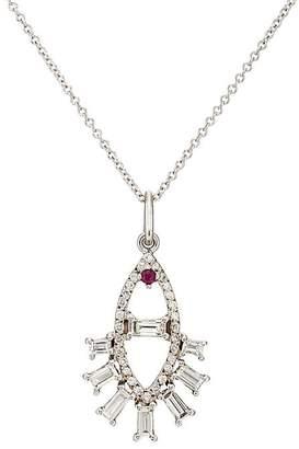 Ileana Makri Womens Diamond Branch Necklace GUNvFtDRQo